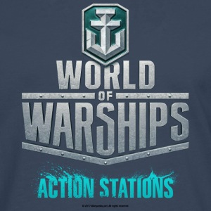 World of Warships Logo Collection - Longarmshirt - Premium langermet T-skjorte for menn
