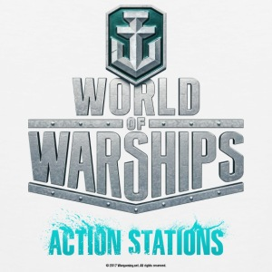 World of Warships Logo Collection - Men's Tank Top - Débardeur Premium Homme