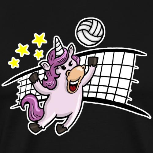 Volleyball Einhorn