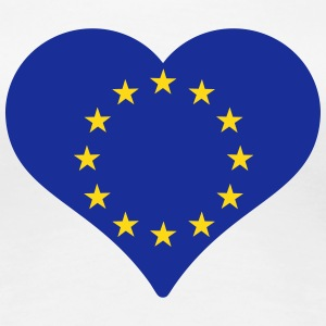European Heart T-Shirts - Women's Premium T-Shirt