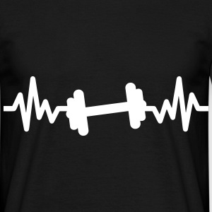 Gym is life : Gym,Body building,Fitness t-shirt  - Men's T-Shirt