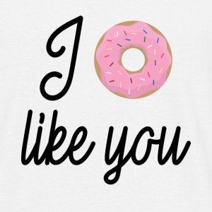 FUNNY Quotation: I like You T-shirts - Herre-T-shirt