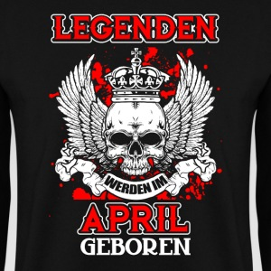 April - legend - birthday - DE Hoodies & Sweatshirts - Men's Sweatshirt