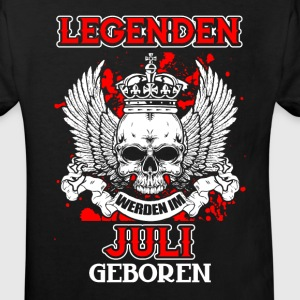 July - legend - birthday - DE Shirts - Kids' Organic T-shirt