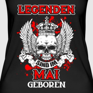 Mai - legenden - bursdag - DE Topper - Øko-singlet for kvinner