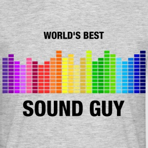 World's Best Sound Guy T-Shirts - Männer T-Shirt