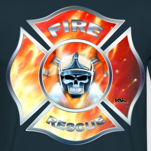 FIRE RESCUE Shirt - Männer T-Shirt