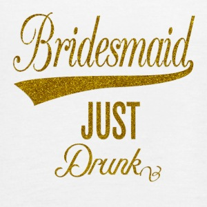 bridesmaid_just_drunk_orig Topper - Singlet for kvinner fra Bella