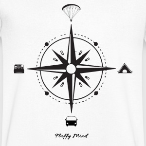 Parapente et Voyage - Follow your own way - T-shirt Homme col V