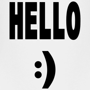 Hello - Teenager Premium T-Shirt