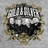 World Famous Gold & Silver Pawn Shop Stars - Men's Organic Sweatshirt by Stanley & Stella