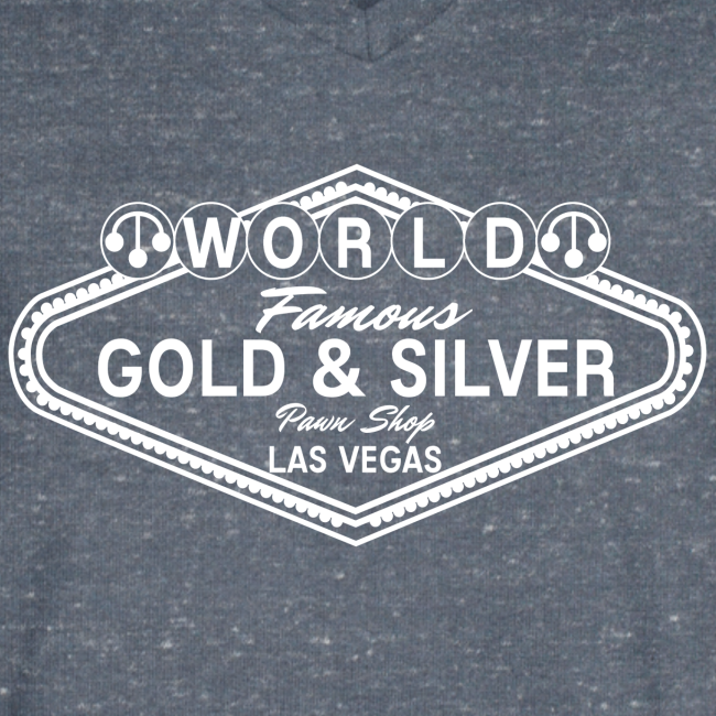 Gold & Silver Pawn Shop Logo à la Las Vegas