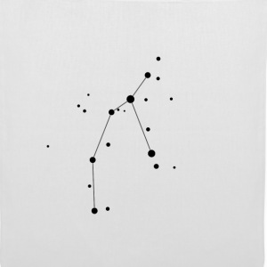 White Perseus Constellation Bags  - Tote Bag