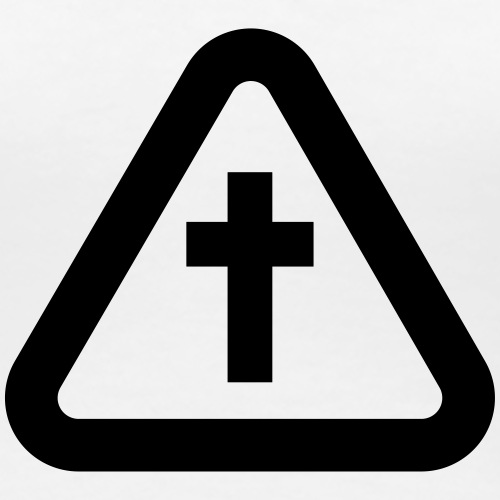 warning sign cross