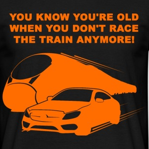 Train Race 3 T-Shirts - Männer T-Shirt