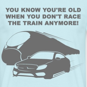 Train Race 2 T-Shirts - Männer T-Shirt