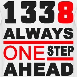 1338 Always one Step ahead T-Shirts - Männer T-Shirt