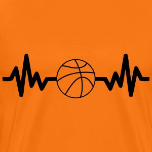 Basket-ball is life,basket t-shirt  - Men's Premium T-Shirt