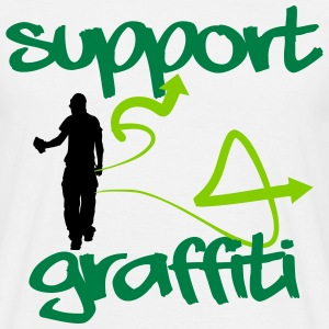 Support Graffiti T-Shirts - Männer T-Shirt