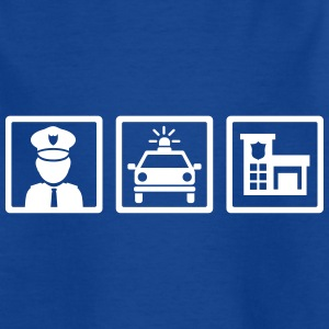 Polizei T-Shirts - Kinder T-Shirt