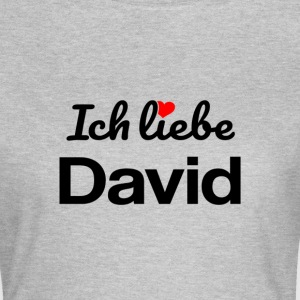 David T-Shirts - Frauen T-Shirt