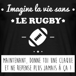 Le rugby,rugbyman Tee shirts - T-shirt Homme