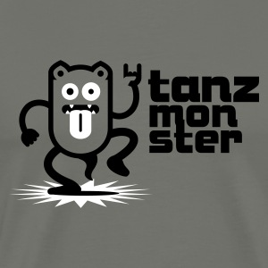Tanzmonster Dance Party Monster 1.1 T-Shirts - Männer Premium T-Shirt