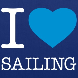 I LOVE SAILING - Tote Bag