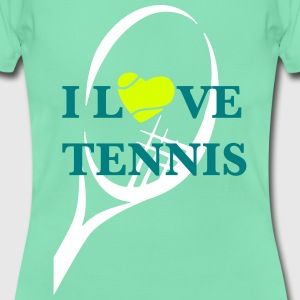 I LOVE TENNIS T-Shirts - Frauen T-Shirt