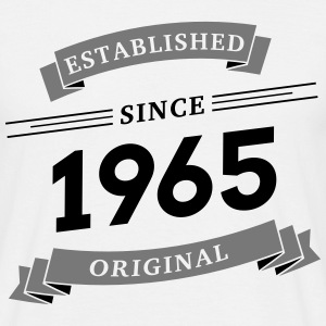Established since 1965 - Männer T-Shirt