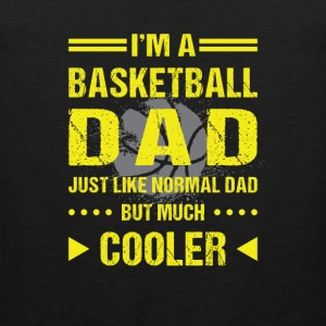 I'm a basketball dad so cooler than you Sports wear - Men's Premium Tank Top