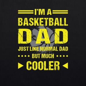 I'm a basketball dad so cooler than you Bags & Backpacks - EarthPositive Tote Bag