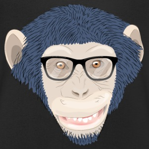 chimpanzee T-Shirts - Men's V-Neck T-Shirt
