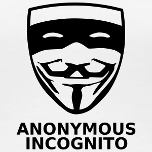 Anonymous Incognito - T-shirt Premium Femme