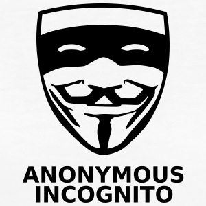 Anonymous Incognito - T-shirt Bio Femme