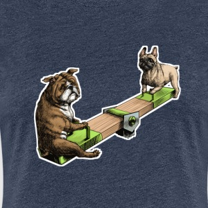 French & British bulldog T-Shirts - Women's Premium T-Shirt