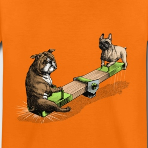 French & British Bulldog Shirts - Kids' Premium T-Shirt