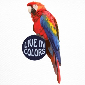 Parrot Live in colors - Papagei Caps & Mützen - Trucker Cap
