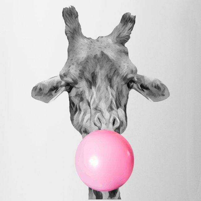 Giraffe bubblegum