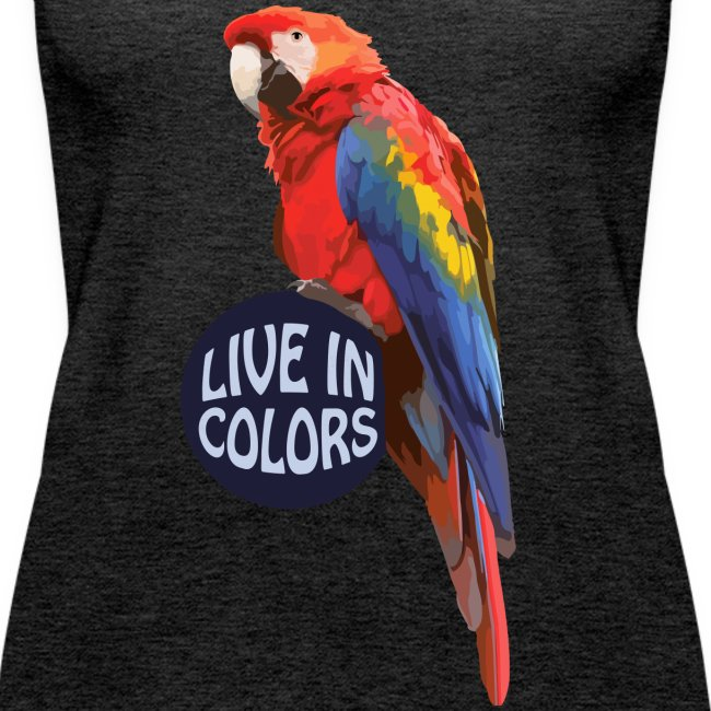 Parrot - Live in colors