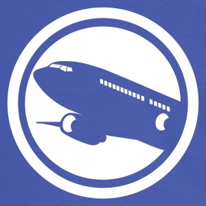 Airline Logo - Men's Ringer Shirt
