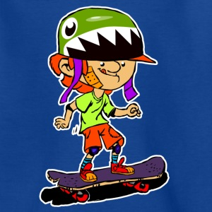 Early Passion Skateboarder - Kinder T-Shirt