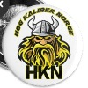 HKN Buttons/knapper. - Liten pin 25 mm