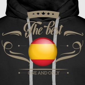 The Best Spanien - Spain Pullover & Hoodies - Männer Premium Hoodie