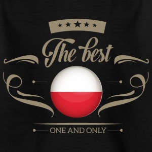 The Best Polen - Poland T-Shirts - Teenager T-Shirt