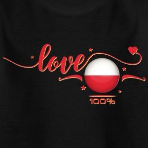 Love Polen - Poland T-Shirts - Teenager T-Shirt