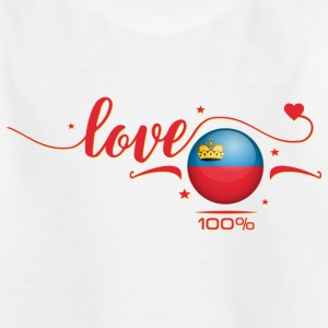 Love Liechtenstein T-Shirts - Teenager T-Shirt