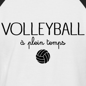 Volleyball A Plein Temps Tee shirts - T-shirt baseball manches courtes Homme
