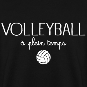 Volleyball A Plein Temps Sweat-shirts - Sweat-shirt Homme