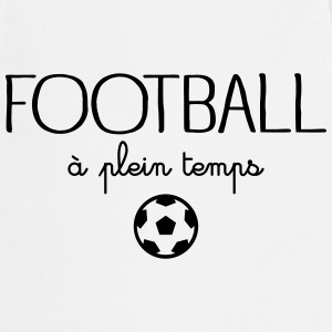 Football à plein temps Tabliers - Tablier de cuisine